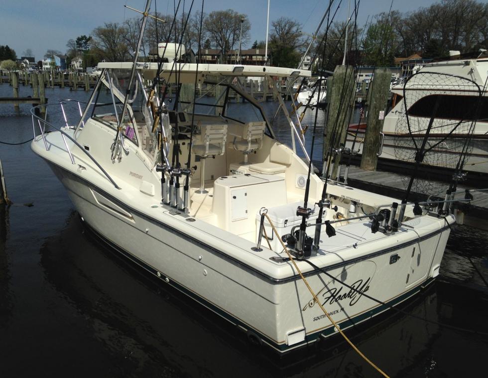 Hookup Charter Fishing Boat